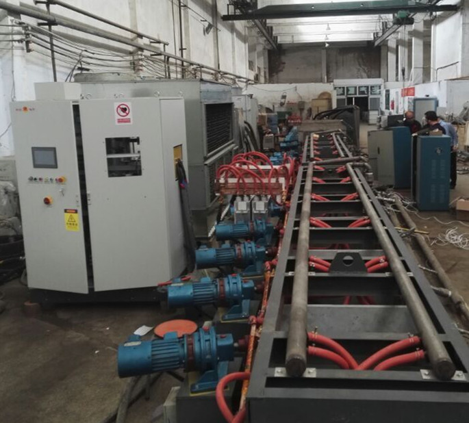 Circular Tube,steel Tube,drill Pipe Quenching And Tempering Heat Treatment Production Line