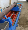 Complete set of equipment for quenching the inner wall of concrete pump pipe
